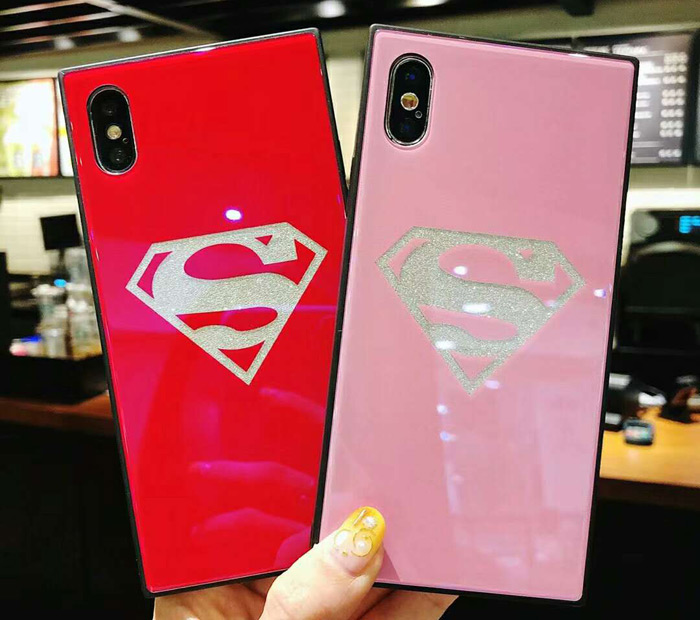 スーパーマン iphoneX Plusケース iphone9/7/6/iphone8 個性的