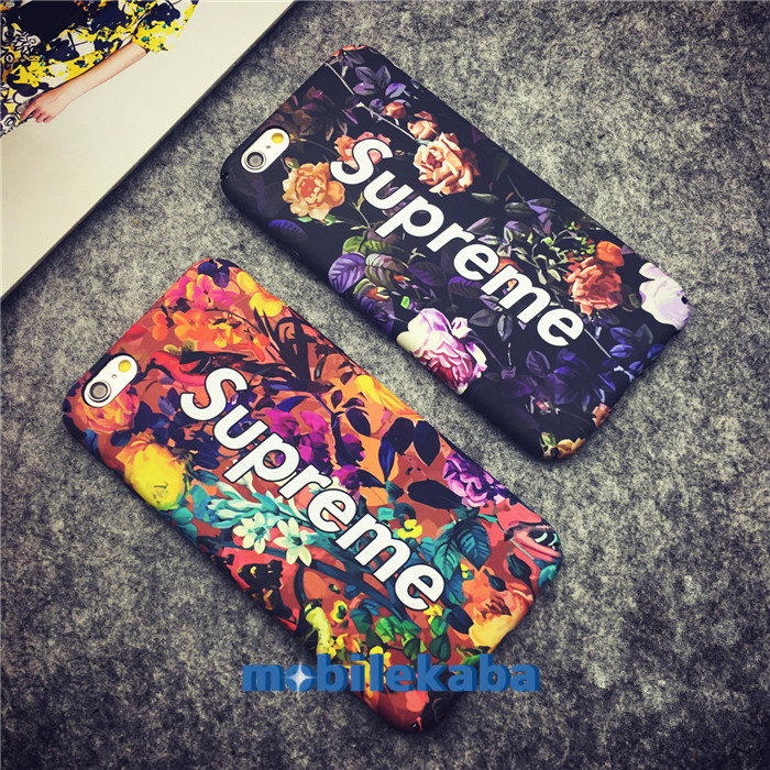 シュプリームストリート系iPhoneX/iPhone8/7Plusケース ブランド