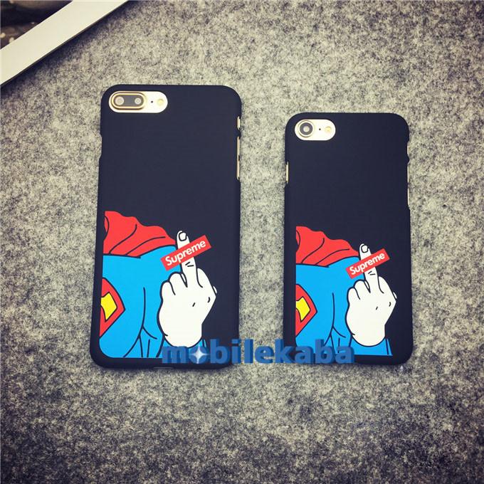 iPhone8 ケース スーパーマン