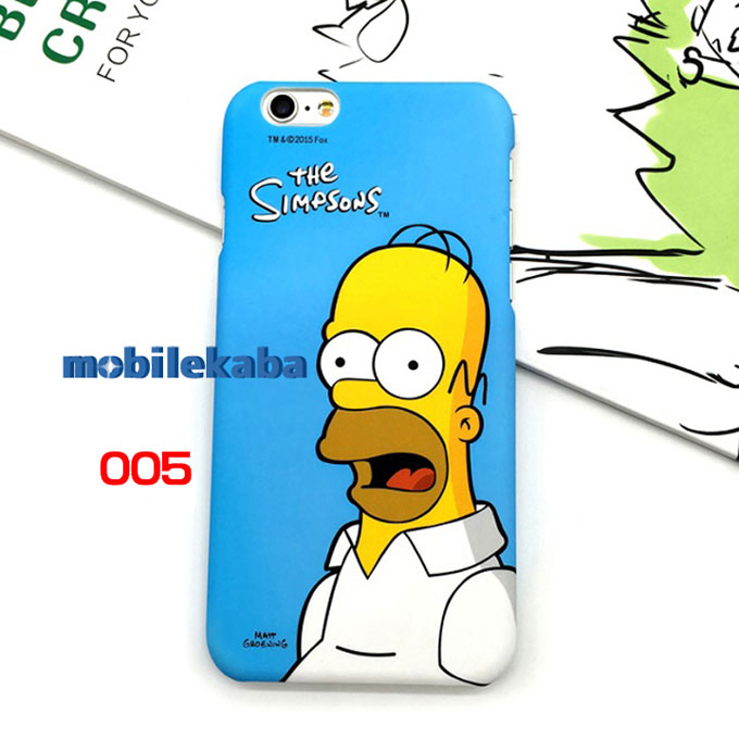 人気The simpsons iPhone8ケース