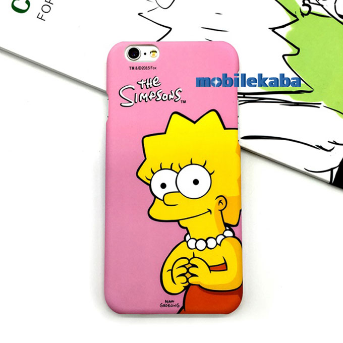ファッション面白いThe simpsons iPhone8 iPhone7plusケース