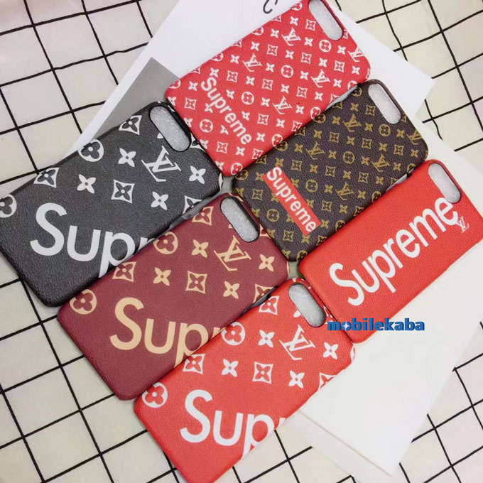 7色 supreme lv iPhone7/8ケース