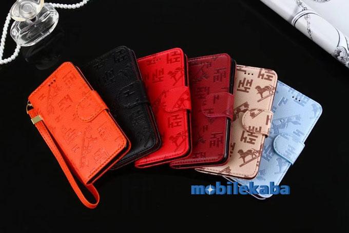 手帳型 カード収納 おしゃれ 大人っぽいエルメスiPhoneX/iPhone8/7Plusケース