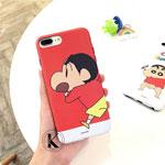 iPhone8 ケース クレヨンしんちゃん