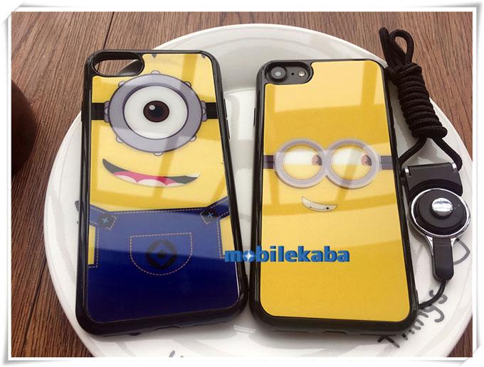 鏡面保護ミニオンiPhone8ケース