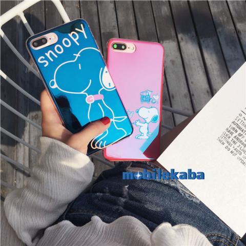 iPhone8 ケース スヌーピー