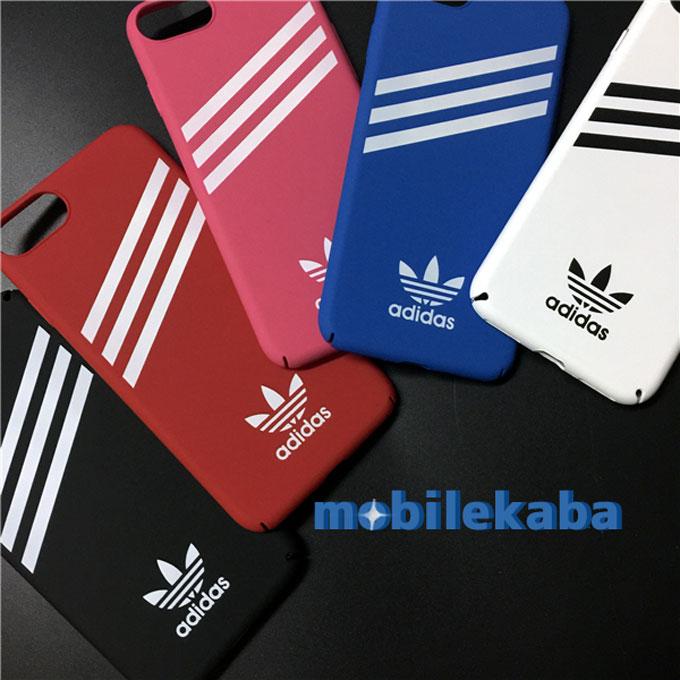 カップル愛用スポーツ運動風AdidasアディダスiPhone8 iPhone7ケース 簡潔シンプルデザイン iPhoneX/8/iPhone7plus アディダスカッコイイ