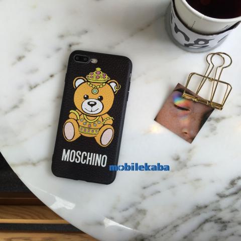 92b8e497f0 Moschinoモスキーノ王冠クラウン熊クマiPhone8ケース 綺麗プリンセス 人気キャラクターマスコット 芸能人愛用iPhone7