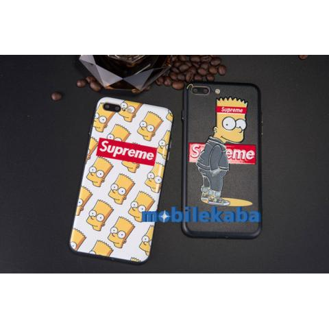 iPhoneX ケース シンプソンズ シュプリーム