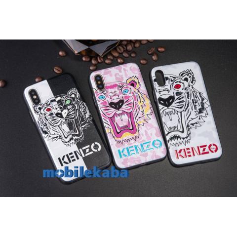 iPhoneX iPhone8 ケース ケンゾー kenzo ピンク
