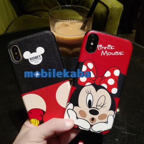 iPhoneX iPhone8 ケース ミッキー ミニー ディズニー