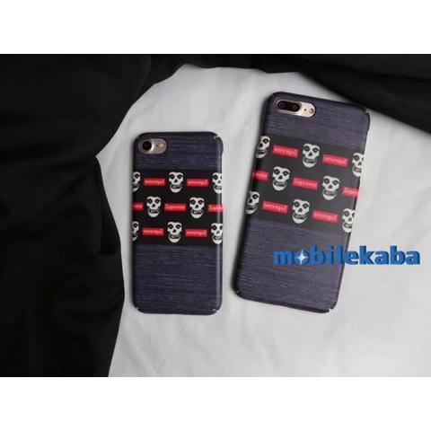 iPhoneX iPhone8 ケース シュプリーム 髑髏 ブランド