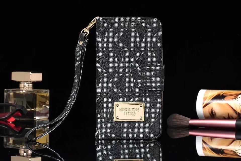 Galaxy S8 ケース 手帳 ブランドiPhoneX/8 NOTE 8高質革製レザーS8plus携帯カバーiPhone7Plus/7/6s/6カード入れsuica収納MKブランド風クラシックMichael KorsマイケルコースGalaxy S7 edge/s7/6