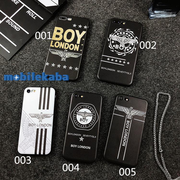 ボーイロンドンiPhoneX/8/iPhone7 PlusケースBOY LONDONファッションブランド
