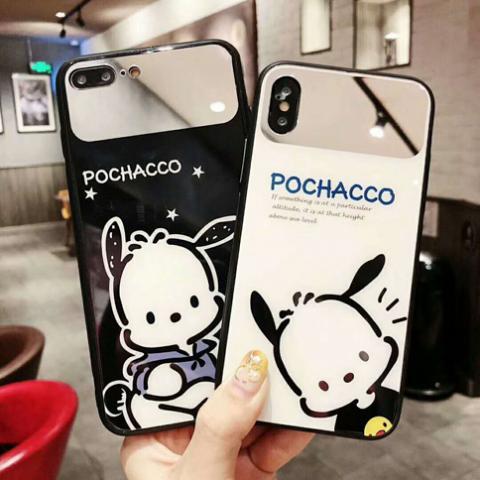 pochacco³ iPhoneX plus/8/7/6s/6ケース