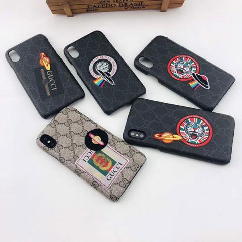 ブランド Gucci iphone xrケース アイフォン xs maxケース グッチ メンズ レディース Gucci iPhone xs/xケース グッチ ギャラクシー S10e/S10/S10plusケース 新作 送料無料
