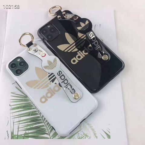 アディダス iphone 11/11proケース ペア NIKE アイフォン11/11Pro Maxケース バンド付き adidas アイフォンXS/XRカバー 男女兼用 ナイキ IPHONE XS MAX/Xケース 簡潔風