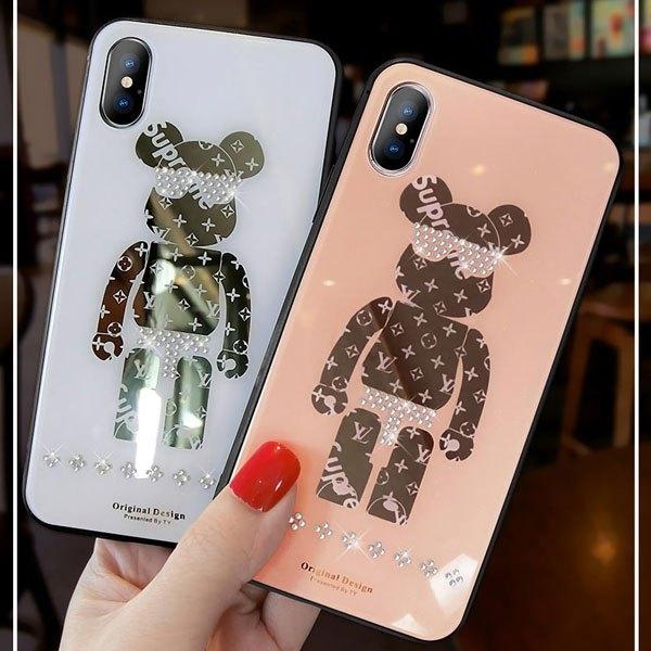シュプリーム iphone 11/xs maxケース 可愛い